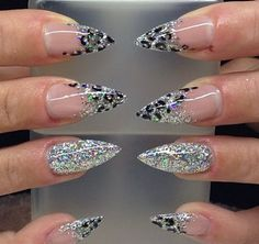 752 Best Stiletto Nails Nail Trends Nail Art Images On Pinterest