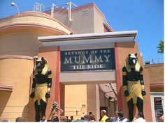 Revenge of the Mummy at Universal Studios Hollywood