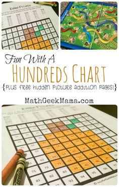Brilliant Ways to Use a Hundreds Chart -