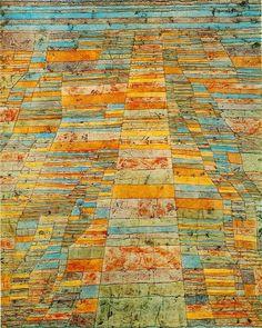 """Paul Klee, 1929, """"Highway and Biways"""""""