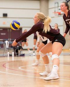 WVB: MacEwan University Griffins vs University of Alberta … | Flickr Female Volleyball Players, Women Volleyball, University Of Alberta, Game 3, Crop Top And Shorts, Yoga Shorts, Poses, Female Athletes, Beautiful Legs