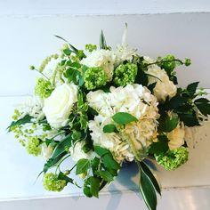 Avalanche , hydrangea , gelda, astilbe low table centre Astilbe, Low Tables, Table Centers, Tree Branches, Hydrangea, Centre, Art Pieces, Floral Wreath, Wreaths
