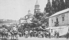Feria del Corpus en el Paseo de Los Basilios