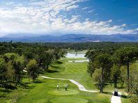 Golfbanen in de Ariège