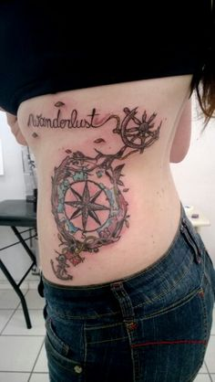 "Wanderlust tattoo. Inspired by Norman Duenas' ""Bon Voyage"""