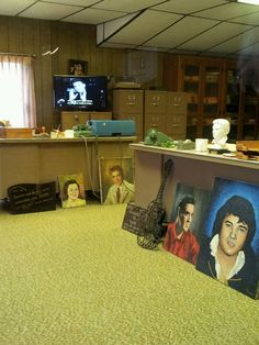 Vernon's Office at Graceland