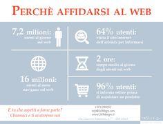 Perché affidarsi al web! - Infografica - Infographic - 169 Design