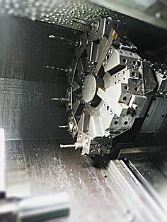 Turning body CNC Machine.