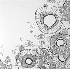 Sea Flora doodle