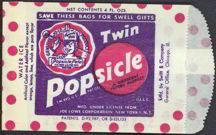 This was when popsicles were good!  My favorite, orange, cherry or rootbeer.  JC