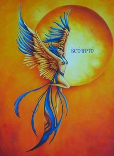 the phoenix another symbol for the scorpion astrology wise anyway