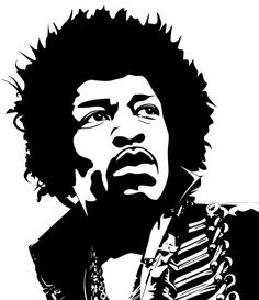 Jimi Hendrix - Vector art by Guss67