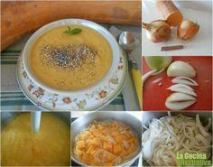 Receta de crema de calabaza a la canela - La Cocina Alternativa