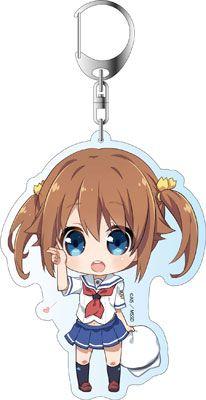 AmiAmi [Character & Hobby Shop] | High School Fleet - Deka Keychain: Akeno Misaki(Released)