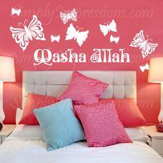 MashaAllah-The flight of butterflies