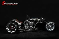 Inspired by Gears of War Judgment and hand crafted by Paul Jr. Designs, this one-of-a-kind trike can't be matched. #GOWJ #Xbox (M)
