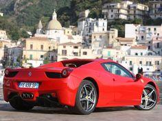 New Ferrari Takes the Convertible Sportscar to the Next Level Ferrari 458, Lamborghini, Alfa Cars, Ferrari Spider, S Car, Performance Cars, Car Rental, Car Show, Dream Cars
