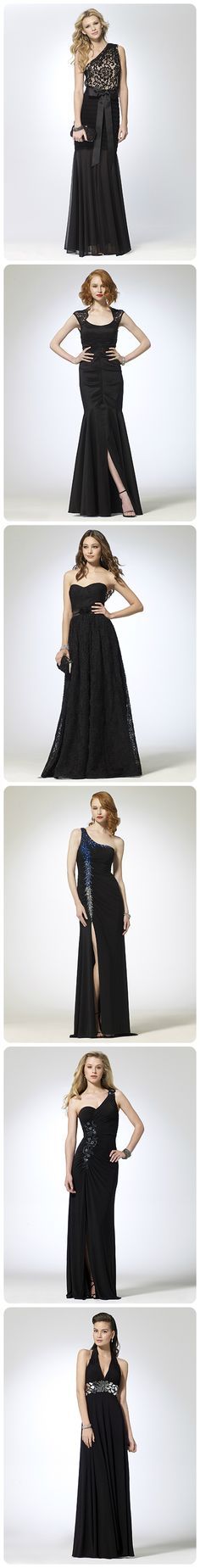 Caché prom gowns: Black Lo I like the second one down its so classy