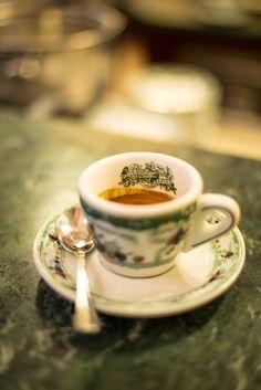 Napoli, Caffè al Gambrinus. #ilovenapoli Coffee Is Life, I Love Coffee, Italian Cup, Food Catalog, Coffee Cups, Tea Cups, Cafe Shop, Naples, Tea Time