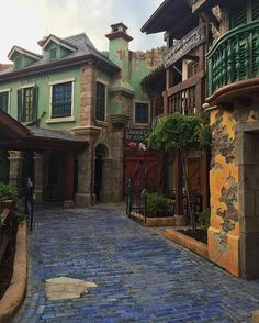 Shanghai Disneyland. Pirate village