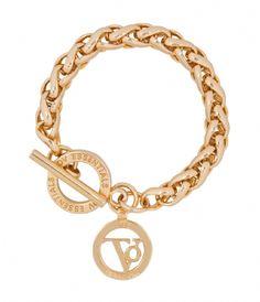 Small Spiga Bracelet gold (002) TOV Essentials | The Little Green Bag