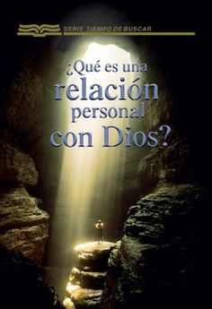 """Cover of """"Que es una relación personal con dios"""""""