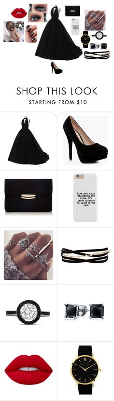"""""""#20"""" by vtamane on Polyvore featuring Boohoo, Kenneth Jay Lane, Bling Jewelry, Lime Crime and Larsson & Jennings"""
