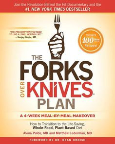 """Food is the most powerful medicine we have to prevent and even reverse diseases like heart disease, diabetes, and high blood pressure. The Forks Over Knives Plan is the prescription you need to live a long, healthy life."" – Sanjay Gupta, MD    ""Drs. Alona Pulde and Matthew Lederman are extraordinary pioneers, leaders, and healers who represent the future of medicine."" - Dean Ornish, MD, from the foreword    More info and preorder at http://smarturl.it/amazonFOK."