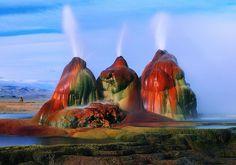 Fly Geyser, Nevada | Lugares Fantásticos: Fly Geyser – Nevada