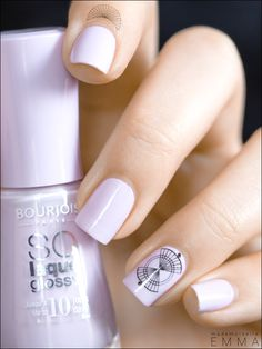 Bourjois - Peace And Mauve & Graphic Nail Tattoos