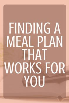 Meal planning can be stressful. You want to meal plan but sitting down and actually coming up with a week of meals seems impossible. Been there, done that. Make sure that you are making a meal plan that works for you.