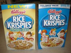 Kellogg's Gluten-Free Rice Krispies - Buy The Right Box!: It's Easy To Get Confused! Make Sure You Choose The Correct Box