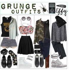 grunge outfits | Grunge Outfits.