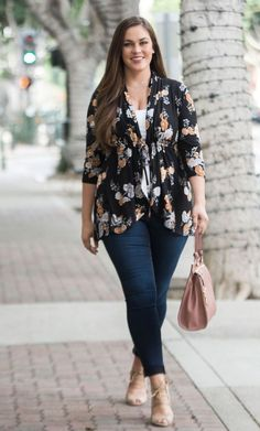 Plus Size Fashion for Women Lori Printed Bellini - Golden Bloom – Curvalicious Clothes