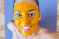 This is a great way to implement a simple and natural skin care routine to maintain clear and healthy skin. We have found a DIY face mask recipe that is made from nothing but natural ingredients. Turmeric Hair Removal, Diy Turmeric Face Mask, Diy Face Mask, Face Masks, Turmeric Benefits For Skin, Coffee Face Mask, Cream For Oily Skin, The Face, Flawless Skin