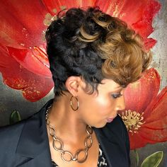 Natural Hairstyle Varies From Cuts To Shades – Stylish Hairstyles Short Black Hairstyles, Permed Hairstyles, Weave Hairstyles, Girl Hairstyles, Teenage Hairstyles, School Hairstyles, Short Permed Hair, Short Hair Cuts, Pixie Cuts