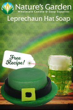 Free Leprechaun Hat Soap Recipe by Natures Garden