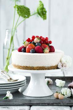 Jordbærcheesecake | ISABELLAS