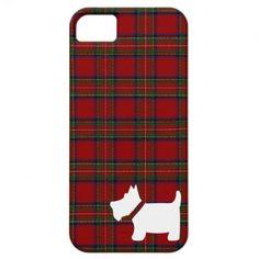Royal Stewart Tartan Pattern with Scottie Dog Case iPhone 5 Covers http://www.zazzle.com/artformtheheart/scottie?rf=238205274887202706