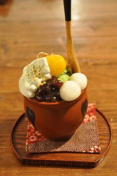 京の抹茶パフェ♫  | マティカフェ