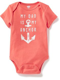 Envelope-Neck Graphic Bodysuit for Baby Product Image