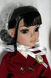 """""""Just in Time"""" a beautiful new, never removed from the box Ellowyne doll by Wilde Imagination. She comes complete in the box with her complete steampunk inspired outfit, her hairnet, poem, and display stand. She will come to you in never taken out of her original box, and inside her shipper and an extra box over that for total protection. She's soldout at Wilde. At my website now with free shipping. Click the picture to take you there. She's SOOO Beautiful!"""