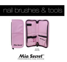 Mia-Secret-Nail-Brush-Holder-Case-Pouch-New-Arrival