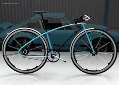Porsche inspired bike.