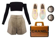 """""""Cásual"""" by aimeeindaeyo on Polyvore featuring Chloé, STELLA McCARTNEY, Chanel and Gucci"""