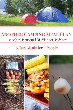 Another Camping Meal Plan: Meals and recipes for your next weekend campout | Little Family Adventure