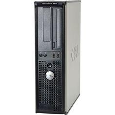 Dell - Refurbished OptiPlex 380 Series Desktop - Intel Pentium - 4GB Memory - 160 GB Hard Drive - Black