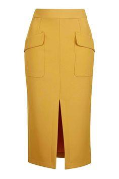 Topshop Split Midi Skirt Source by WhoWhatWear Skirt Outfits, Dress Skirt, Midi Skirt, Denim Skirt, Cute Skirts, Short Skirts, Topshop Skirts, Topshop Tall, Calf Length Skirts