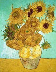 Изобр по > Натюрморт с Подсолнухами Ван Гог