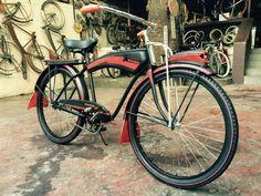 Custom built vintage bicycle by Bzkleta Classic Manila